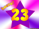 23 Jaar Verjaardag
