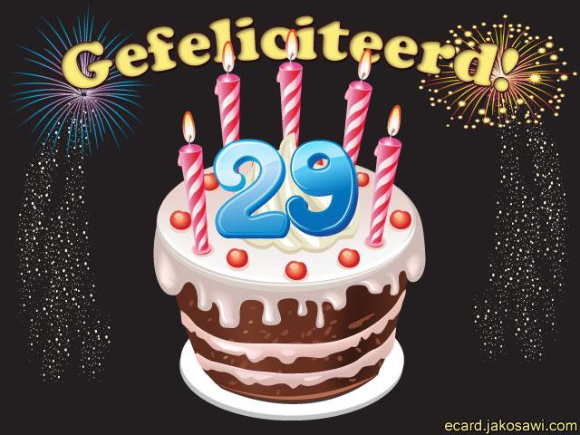 29 Jaar Verjaardag