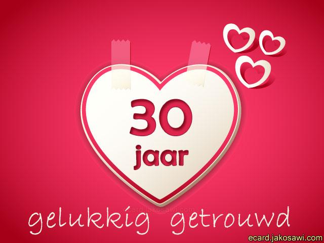 30 Jaar Huwelijk Humor : Jakosawi e cards jaar liefde