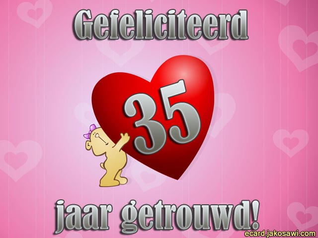 jakosawi e-cards - getrouwd beer 35 -