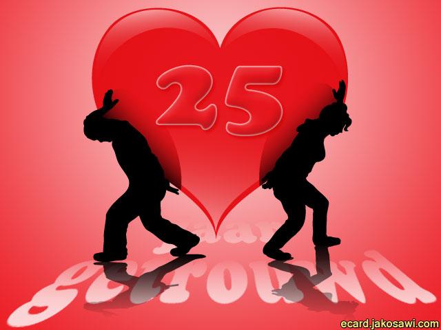 Favoriete jakosawi e-cards - 25 jaar getrouwd - @NI99
