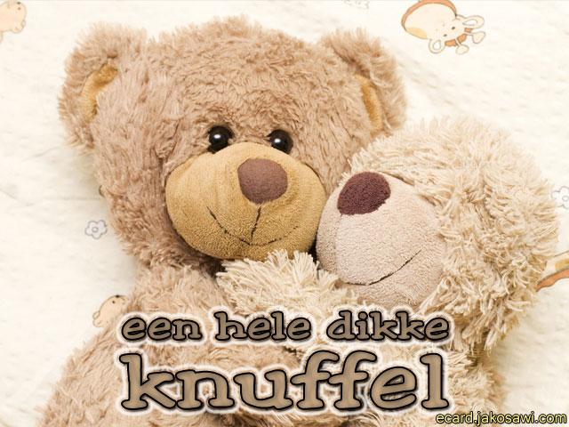 Iets Nieuws jakosawi e-cards - dikke knuffel 1401 - #AW31