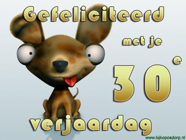 gefeliciteerd 30 jaar verjaardag 30 Jaar Verjaardag Humor   ARCHIDEV gefeliciteerd 30 jaar verjaardag