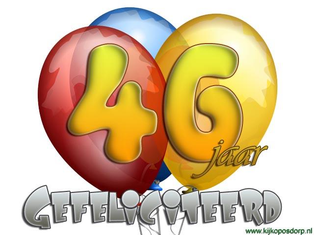 gefeliciteerd 46 jaar 46 Jaar Gefeliciteerd   ARCHIDEV gefeliciteerd 46 jaar
