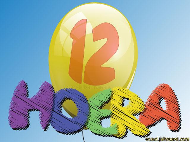 hoera 12 jaar Hartelijk Gefeliciteerd 12 Jaar   ARCHIDEV hoera 12 jaar