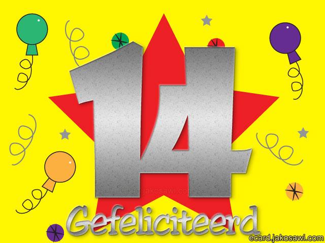 gefeliciteerd 14 jaar 14 Jaar Gefeliciteerd Grappig   ARCHIDEV gefeliciteerd 14 jaar