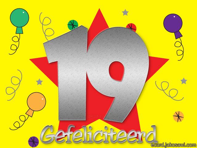 gefeliciteerd 19 jaar Gefeliciteerd 19 Jaar Grappig   ARCHIDEV gefeliciteerd 19 jaar
