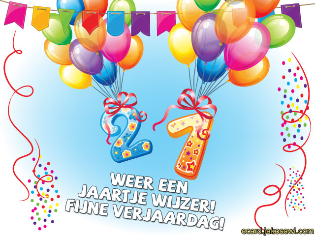 Fabulous Verjaardag Vrouw 21 Jaar QDP-17   Wofosogo #BA54
