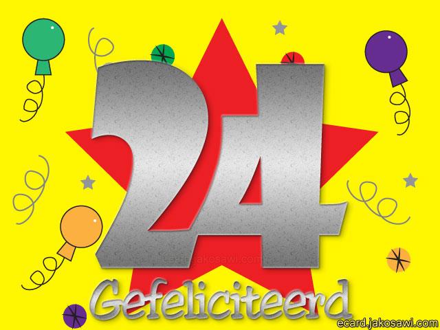 gefeliciteerd 24 jaar Gefeliciteerd 24 Jaar   ARCHIDEV gefeliciteerd 24 jaar