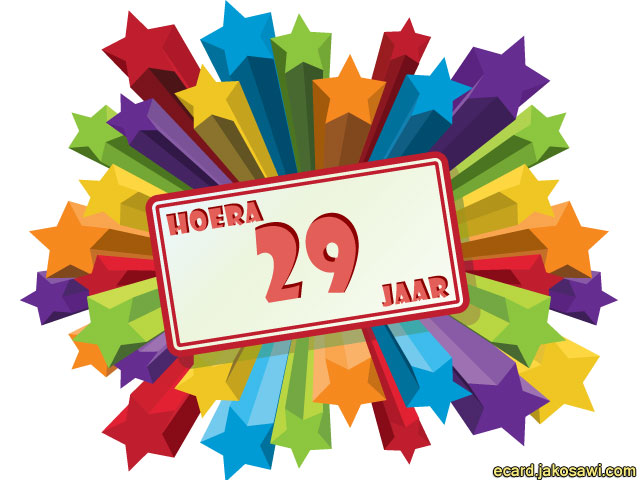 29 jaar jarig Verjaardag Zoon 29 Jaar   ARCHIDEV 29 jaar jarig