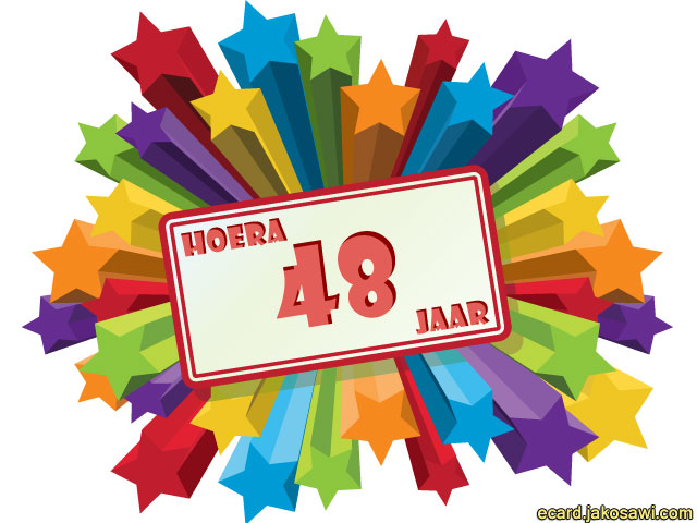 48 jaar jakosawi e cards   48 jaar sterren   48 jaar
