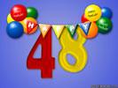 48e Verjaardag Gratis Wenskaarten Ecard Jakosawi Com Verjaardag