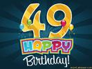 49e Verjaardag Gratis Wenskaarten Ecard Jakosawi Com Verjaardag