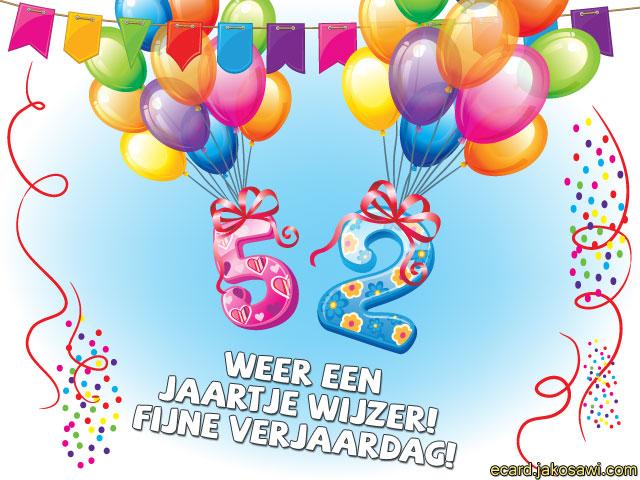 52 jaar jakosawi e cards   52 jaar ballonnen 2   52 jaar