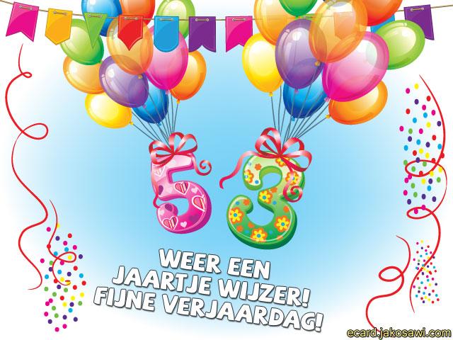 53 jaar jakosawi e cards   53 jaar ballonnen 2   53 jaar