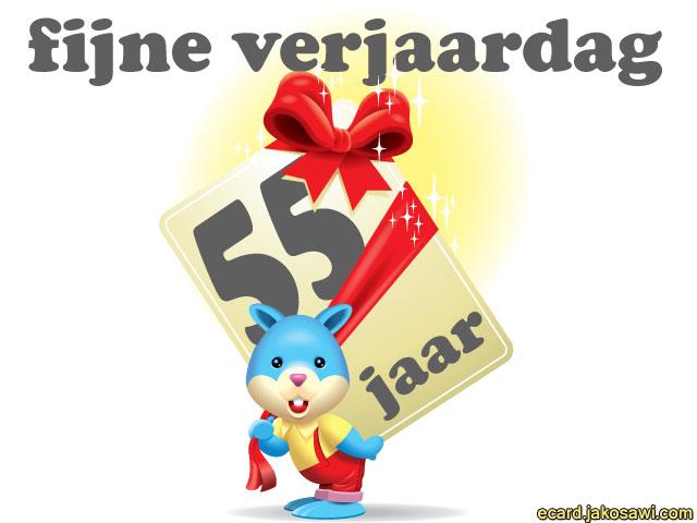 Beroemd 55 Jaar Verjaardag Bk 08 Blessingbox
