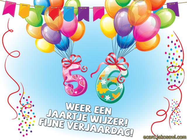 56 jaar 56 Jaar Gefeliciteerd   ARCHIDEV 56 jaar