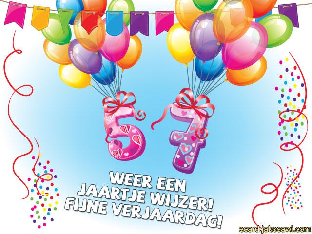 57 jaar jakosawi e cards   57 jaar ballonnen 2   57 jaar