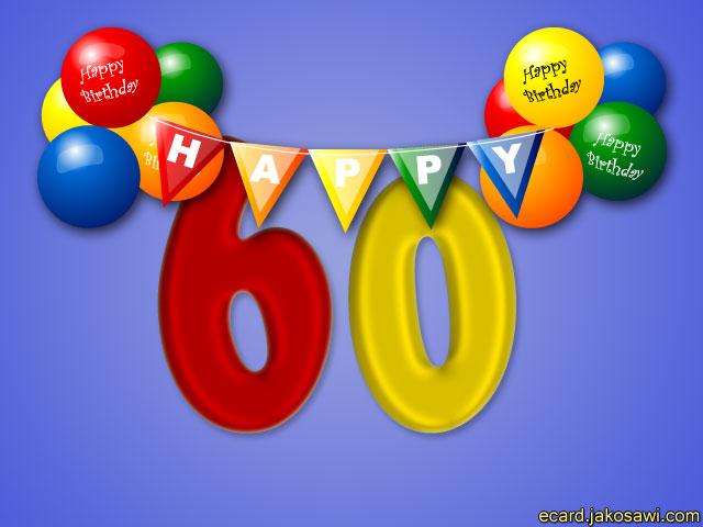 verjaardagskaart 60 jaar gratis Verjaardagskaart 60 Jaar Gratis   ARCHIDEV verjaardagskaart 60 jaar gratis