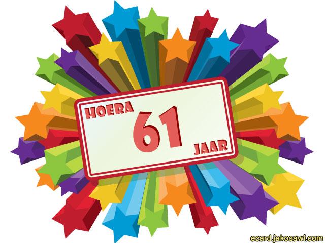 61 jaar jakosawi e cards   61 jaar sterren   61 jaar