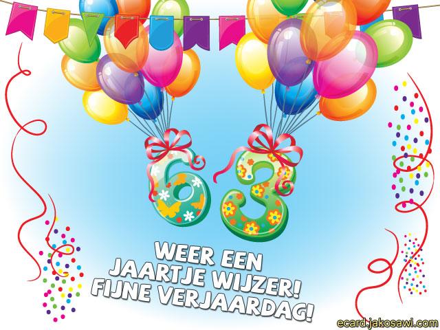 63 jaar jakosawi e cards   63 jaar ballonnen 2   63 jaar
