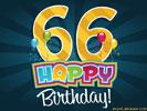 66e verjaardag gratis wenskaarten ecard jakosawi