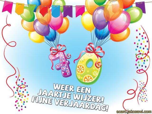 gratis verjaardagskaart 70 jaar Verjaardagskaart 70 Jaar Gratis   ARCHIDEV gratis verjaardagskaart 70 jaar