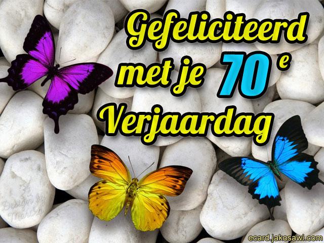 verjaardagskaart 70 jaar Verjaardagskaart Voor 70 Jarige   ARCHIDEV verjaardagskaart 70 jaar