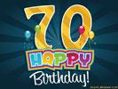 70e Verjaardag Gratis Wenskaarten Ecard Jakosawi Com Verjaardag
