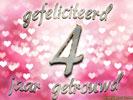 4 jarig huwelijk Huwelijk: Huwelijksverjaardag 4 Jaar e cards @ ecard.jakosawi.com 4 jarig huwelijk