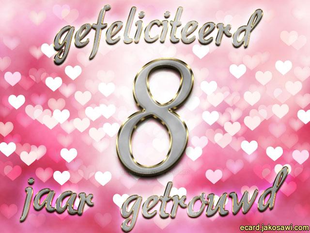 8 jaar getrouwd cadeau Kado 8 Jaar Samen   ARCHIDEV 8 jaar getrouwd cadeau