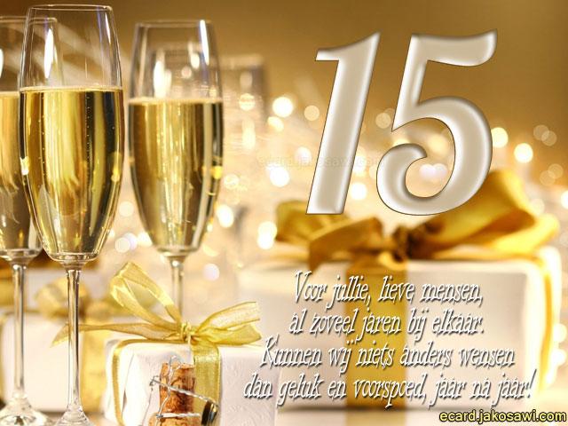 15 jarig huwelijk Afbeelding Getrouwd 15 Jaar   ARCHIDEV 15 jarig huwelijk