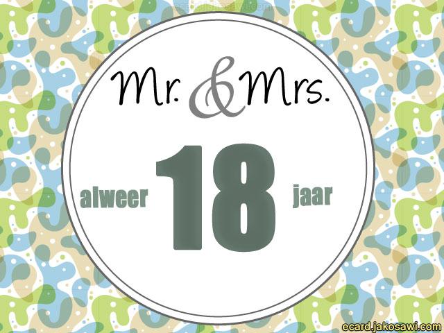 18 jaar getrouwd Afbeeldingen 18 Jaar Getrouwd   ARCHIDEV 18 jaar getrouwd