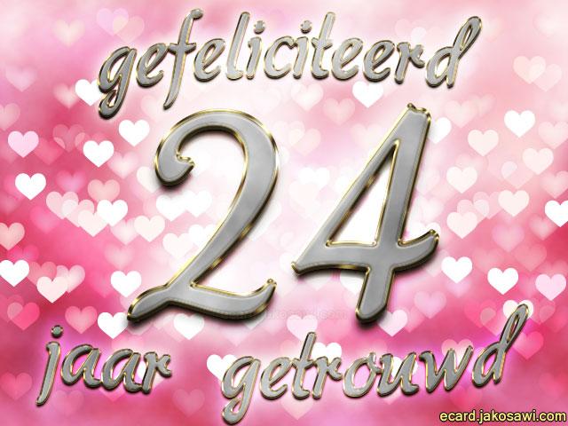24 jaar getrouwd Gefeliciteerd 24 Jaar Getrouwd   ARCHIDEV 24 jaar getrouwd