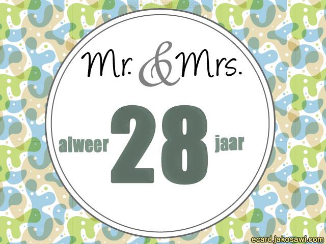 28 jaar getrouwd Gefeliciteerd 28 Jaar Getrouwd   ARCHIDEV 28 jaar getrouwd