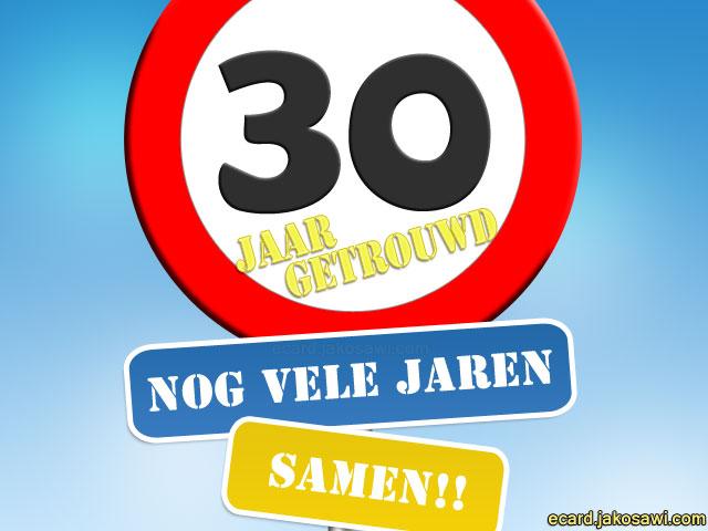 30 jaar getrouwd kaart 30 Jaar Getrouwd Humor   ARCHIDEV 30 jaar getrouwd kaart