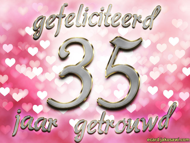 gefeliciteerd met jullie 35 jarig huwelijk Gefeliciteerd 2 Jaar Getrouwd   ARCHIDEV gefeliciteerd met jullie 35 jarig huwelijk