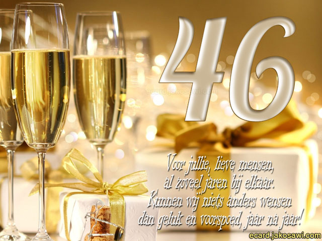 46 jaar getrouwd Tekst 46 Jaar Getrouwd   ARCHIDEV 46 jaar getrouwd