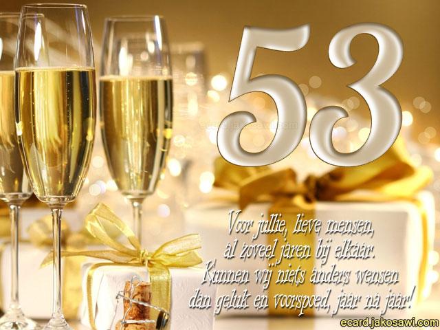 53 jaar getrouwd 53 Jaar Getrouwd Kaart   ARCHIDEV 53 jaar getrouwd