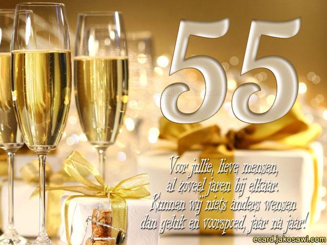 55 jaar verjaardag Wensen Voor 55 Jaar Verjaardag   ARCHIDEV 55 jaar verjaardag