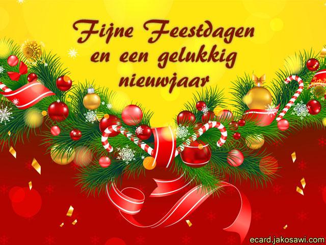 Afbeelding Fijne Kerstdagen En Gelukkig Nieuwjaar   ARCHIDEV