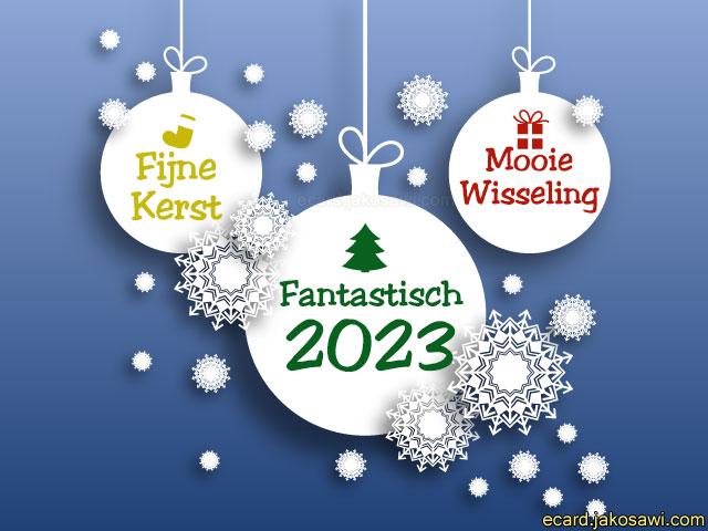 Kerst En Nieuwjaar Ecard.Jakosawi E Cards Fijne Kerst 1402y